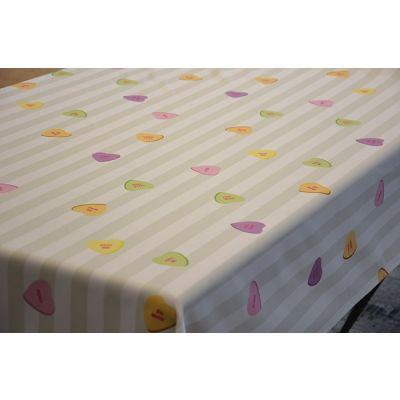 Tablecloth 220x130cm Print Candy Hearts