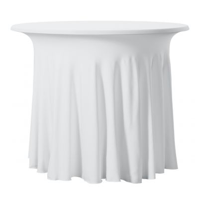 Bistro Tablecover Stretch Wave Round