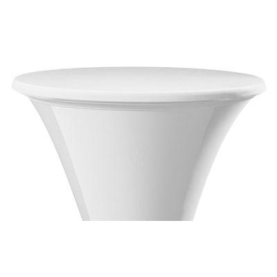 Topcover Samba Plain-Jersey Ø80-85cm White (121)