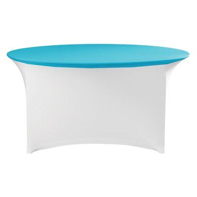 Tischplatten Bezug Stretch Rund