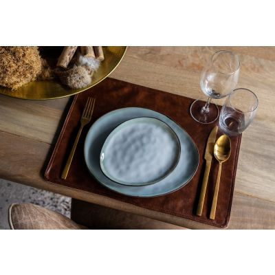 Placemat Rectangular Leatherlook