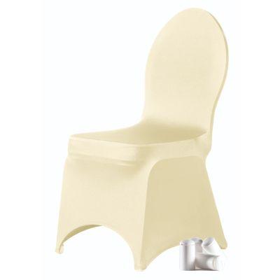 Chair cover Brilliant E-J Champagne (123)