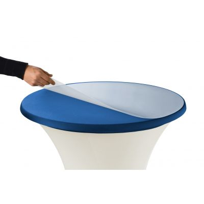 Safety Plate PVC Round