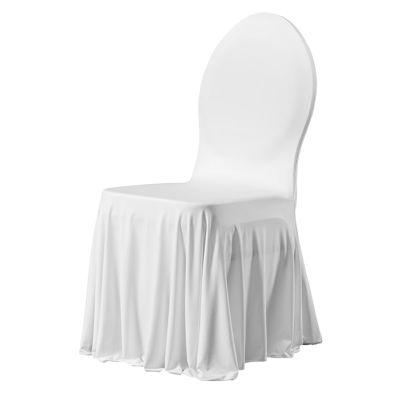 Chair cover stretch Siesta E-J White (121)
