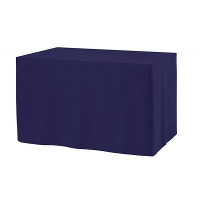 Combi skirting Unpleated Rectangular PR 122x76x73cm Dark Blue (71)