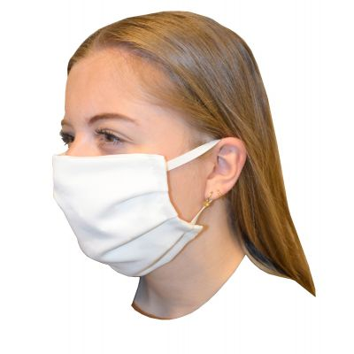 Mouth Mask 100% Cotton White