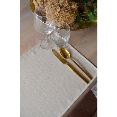 Placemat Rectangular Linnenlook