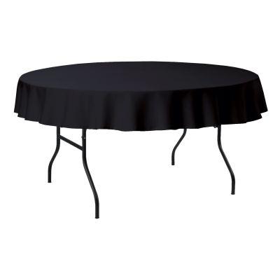 Tablecloth Round PR Ø180cm Black (12)