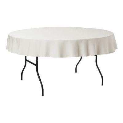 Tablecloth Round PR Ø140cm cream